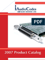 Audio Codes Product Catalog