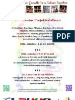 4th Comenius Project Meeting in Zsombó - Poster