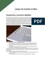 Todos Los Atajos de Teclado en Mac OSX