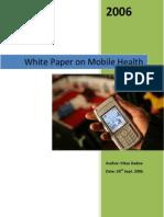 White Paper Mobile Healthcare 2006