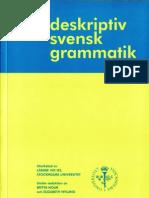 SvenskDeskriptivGrammatik