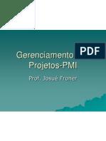 Gerenciamentos - pmi