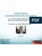 v4 Connecting to the Core of the Internet