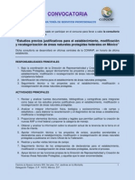 Convocatoria EPJ 2012