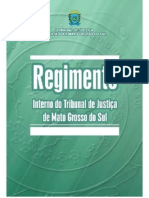 Regimento Interno Tj Ms