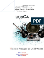 Fases da produção musical