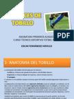ESGUINCES DE TOBILLO