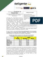 Resultados Encuesta sobre Asuntos que deben Discutirse en el Periodo Eleccionario - TuVoto2012 - Febrero 2012
