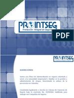Port a Folio de Servicios Prointseg Ltda