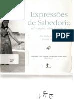 Expressões de Sabedoria educação, vida e saberes