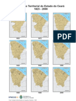 Mapas Histórico do Ceará