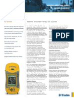 Trimble GeoXT Datasheet