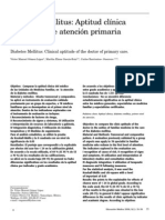 DM Aptitud Clinica Del Medico de Atencion Primaria