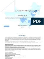 China Other Clay Sand Stone Mining Industry Profile Cic1019