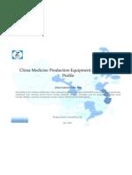 China Medicine Production Equipment Mfg. Industry Profile Cic3644
