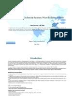 China Metal Kitchen Sanitary Ware Industry Profile Cic3481