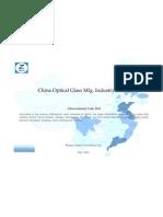 China Optical Glass Mfg. Industry Profile Cic3143