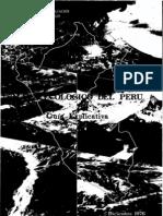 1976. Libro Onern; Mapa Ecológico del Perú