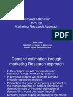 Ch6 Demand Estimation