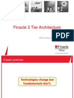 Finacle 3tier Architecture