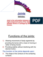 Bio Mechanics of Joints