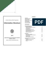 Information Brochure 2011