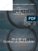 Inflation and Its Impact on Indian Economy