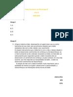 Teste Formativo de Psicologia - Joana Silva