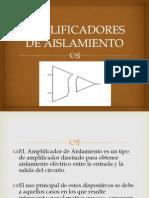 AMPLIFICADORES DE AISLAMIENTO