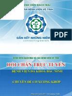 Benh an Hoi Chan Truc Tuyen Cxk 16.3_bac Ninh