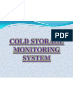 Cold Storage Monitoring Ppt