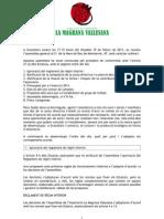 20110219 Assemblea General La Magrana Vallesana
