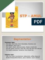 AMUL-STP n SWOT