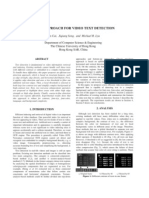A New Approach for Video Text Detection