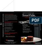 SousVide Temperature Reference Guide