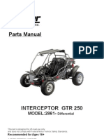 9-Carter Interceptor GTR 250 Parts Manual MODEL- Differential