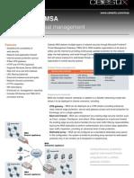Celestix Msa a4 Datasheet-2011