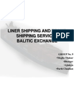 Liner Shipping and Tramp Shipping Services-group 9
