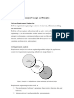 Analysis Concepts and Principles