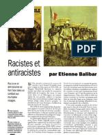 Balibar, Racistes Et Antiracistes