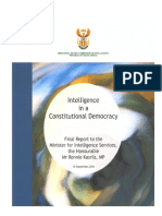 Final Report of the Ministerial Review Commission on Intelligence in South Africa