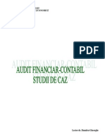 50541140 Audit Financiar Contabil Studii de Caz Licenta Nn