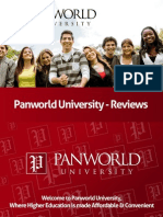 Panworld University Reviews