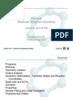 Molecular Quantum Chemistry-Imp