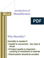 Introduction of Humidification