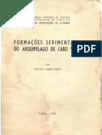 Formações Sedimentares do Arquipelágo de Cabo Verde, Lisboa 1968