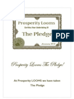 Prosperity Looms the Pledge5