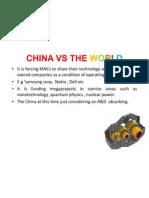 China vs the World