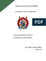 Cuaderno de Trabajo as Financier As Lopez Larrea
