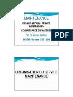 Chap 2 Organisation du service maintenance - Connaissance du matériel [Lecture seule] [Mode de compatibi